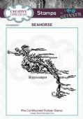 CE Rubber Stamp by Andy Skinner - Seahorse - CEASRS007